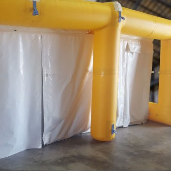 Minvent Product - Environmental Shelter inflated