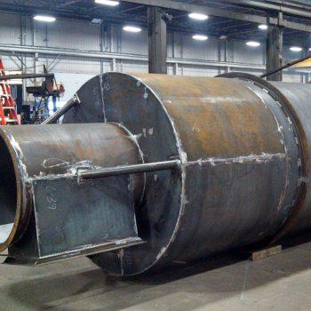 Platework Cyclone - Fabrication Section